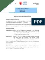 GUIA-N°05-MAT-II-Aplicaciones de las derivadas