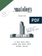 Hematology (Revised 1962)