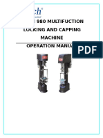 Locking and Capping Machine