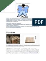 Qué es la materia de español.docx