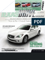 Texas Drive Magazine May 31-June 13,2010