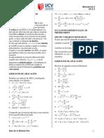 GUÍA N°8_EDO DE ORDEN 1_ VARIABLES SEPARABLES y REDUCIBLES A ELLAS