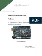 Manual de Programacion Arduino
