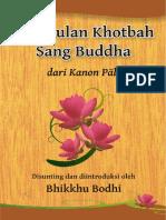 Kumpulan Khotbah Sang Buddha