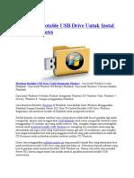 Membuat Bootable USB Drive Untuk Instal Semua Windows