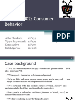 Tivo 2002 Consumer Behaviour