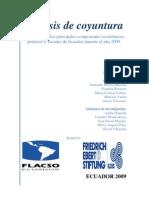 Analisis coyuntura 2009 última version
