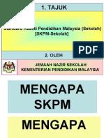 Standard Kualiti KPM KESELURUHAN