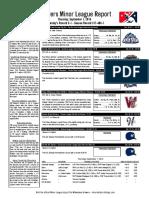 9.1.16 Minor League Report