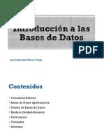 01-Introducción a Bases de Datos