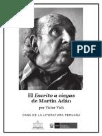 Victor Vich - El Escrito a Ciegas de Martin Adan-1