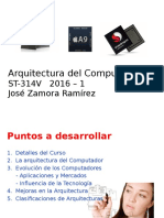 Arquitectura y Organización Del Computador 2016-1