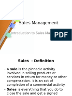 Sales Management 1