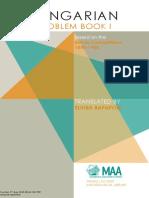 Hungarian Problem Book I (Number 11)(Bk. 1) [E. Rapaport]