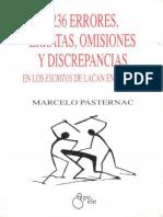 Pasternac, Marcelo (2000). 1236 errores, erratas, omisiones y discrepancias en los Escritos de Lacan en español. Ed. Epeele.pdf