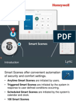Honeywell Lyric Controller Smart Scene Training Guide