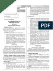 LEY 30487-LEY DE PROMOCIÓN DE LOS PUNTOS DE CULTURA-PERU. JULIO 2016