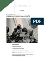 Margarida Roquette - Médicos Sem Fronteiras, Uma Missão