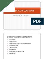 Infectii Acute Localizate
