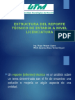 Induccion Reporte Tecnico Licenciatura
