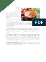 Elaboración de La Salsa de Tomate