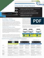Nutanix Datasheet Standard Spanish