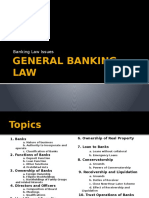 General Banking Law