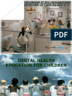 Dental Health Education for Children Pedo