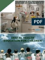 Dental Health Education for Children Pedo