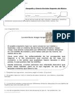 Evaluación Historia Octubre 2014