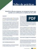 Beneficios Para Las Empresas Con Programa Immex Que Cuentan Con Certificación en Materia de IVA y IEPS