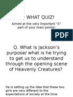 so what quiz