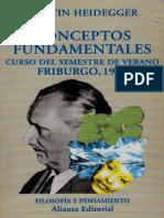 HEIDEGGER, Martin, Conceptos Fundamentales Friburgo 1941.pdf