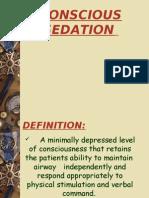 Concious Sedation Pedo