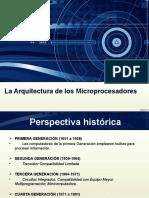 Microprocesadores UdeO 2,016 - Arquitectura de Los Microprocesadores