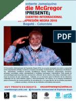ENCUENTRO INTERNACIONAL DE EXPRESIÓN NEGRA 2016