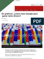 En Gráficos ¿Cómo Hace Google Para Ganar Tanto Dinero - BBC Mundo