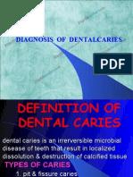 Diagnosis of Dental Caries Pedo