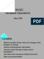 Visual Basic 6 Variables