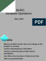 Visual Basic 6 Variables
