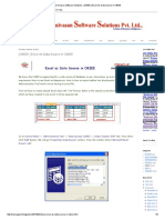 Excel as Data Source in OBIEE