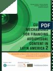 Financin Audiovisual content in Latin America