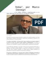 Culturofobia Marco Aurelio Denegri