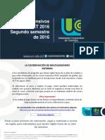 Cursos Intensivos Inglés PEXT 2016 Segundo Semestre de 2016 (1)