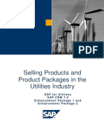 Selling Products and Product Packages in the Utilities Industry