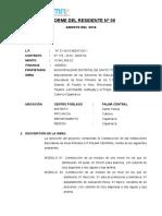 01 INFORME N°08 DEL RESIDENTE PALMA CENTRAL