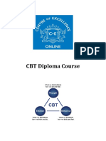 CBT Contents and Intoduction