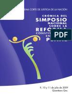SCJN - CRÓNICA DEL SIMPOSIO NACIONAL SOBRE LA REFORMA CONSTITUCIONAL EN MATERIA PENAL.pdf