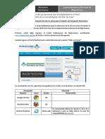 Manual de Usuario Citas en Linea Pasaporte Electronico