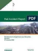 Rail Accident - Stewarton